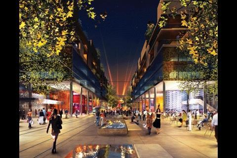 Masterplan for Santa Giulia, Milan